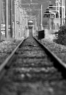 去りゆく列車